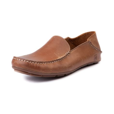 Shop for Mens Sperry Top-Sider Wave Driver Casual Shoe in Sahara at Journeys Shoes. Shop today for the hottest brands in mens shoes and womens shoes at Journeys.com.Casual comfort with stylish sophistication, its the Sperry Top-Sider Wave Driver, featuring a slip-on loafer design with leather upper, moc toe stitch, and durable rubber bottom.
