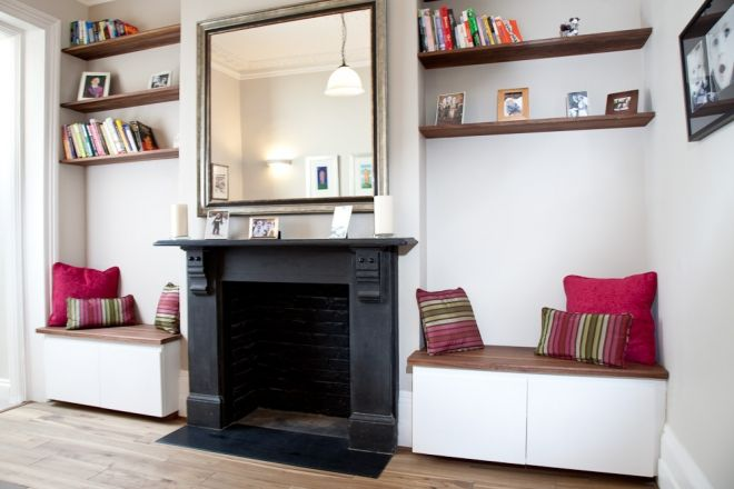 25 best home alcove seating nook images on pinterest. Black Bedroom Furniture Sets. Home Design Ideas