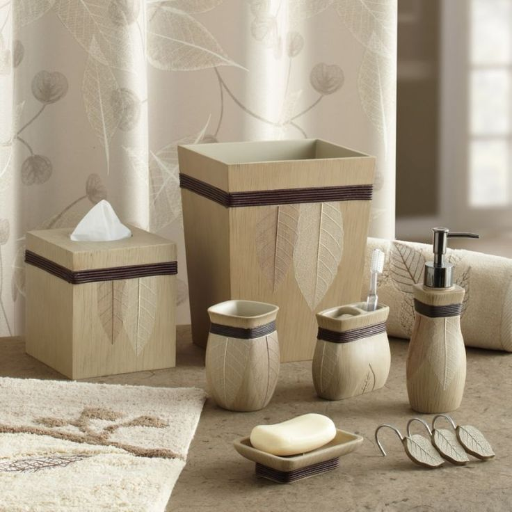 Croscill Lacie Leaves Bath Collection Bathroom Collections