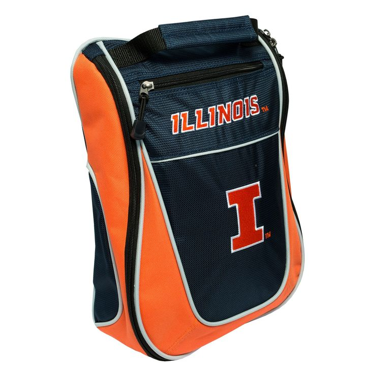 Team Golf Illinois Fighting Illini Golf Shoe Bag, Multicolor