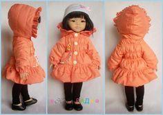 Процесс пошива курточки для куклы 32 см. Выкройка П7 - Ярмарка Мастеров - ручная работа, handmade
