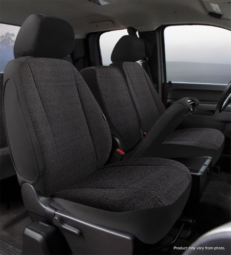 Fia TRS49-33 GRAY TRS40 Solid Wrangler Solid Gray Seat Cover Front Bucket Seats//Saddle Blanket