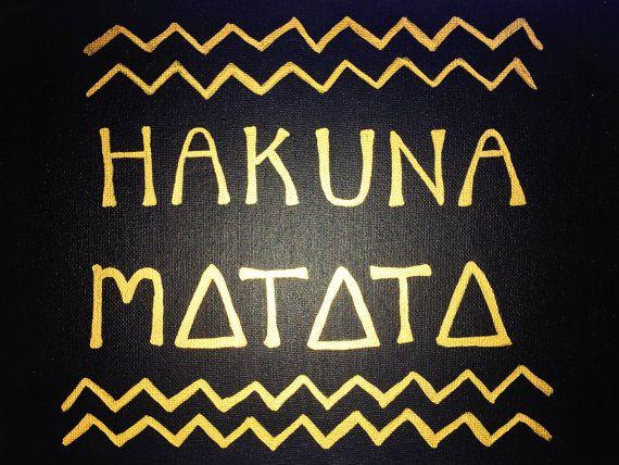 Resultado de imagen de hakuna matata