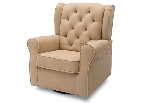No nursery is complete without a plush glider, and the Emerson Nursery Glider Swivel Rocker Chair from Delta Children is the perfect addition to your baby's space. Crafted with parents and baby in mind, it features a wingback silhouette, thickly padded armrests and a sturdy frame with... more details available at https://furniture.bestselleroutlets.com/game-recreation-room-furniture/gliders/product-review-for-delta-furniture-emerson-upholstered-glider-swivel-rocker-chair