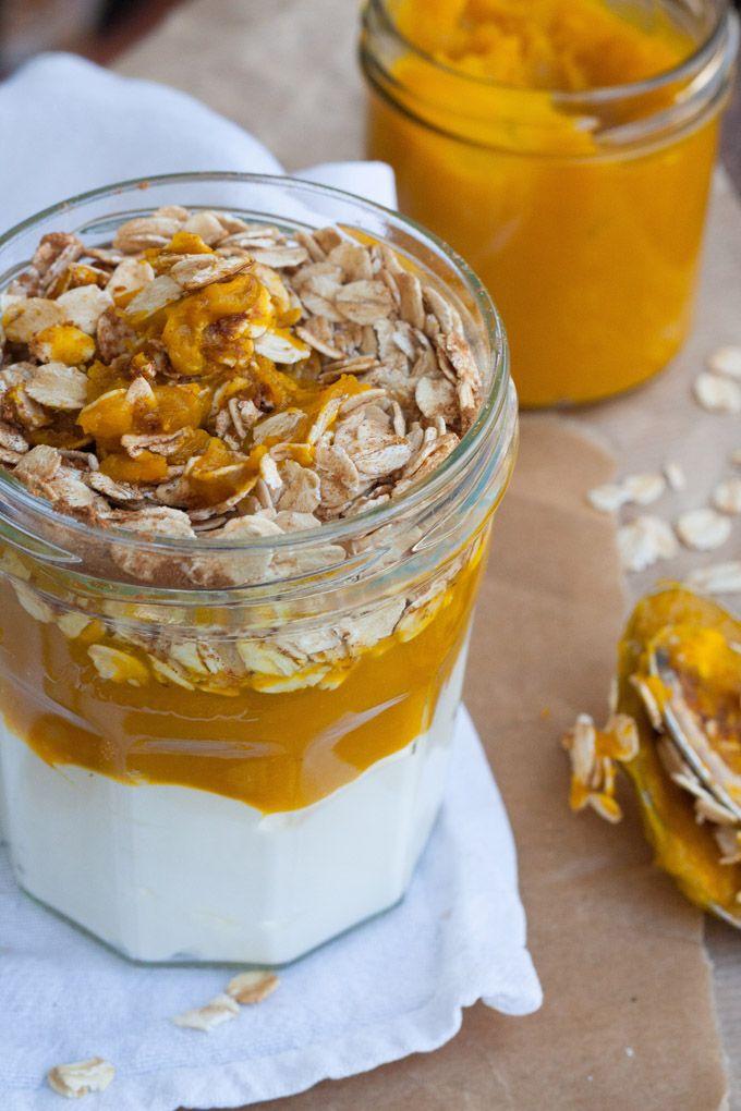Die Pumpkin Pie Overnight Oats schmecken wie Kürbiskuchen zum Löffeln. So köstlich, die müsst ihr probieren!