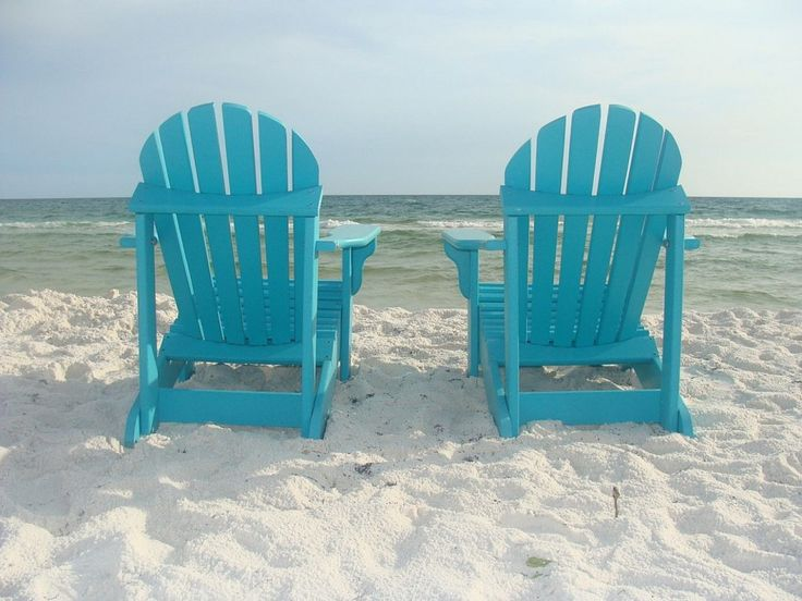 vibrant colored polywood adirondack chairs