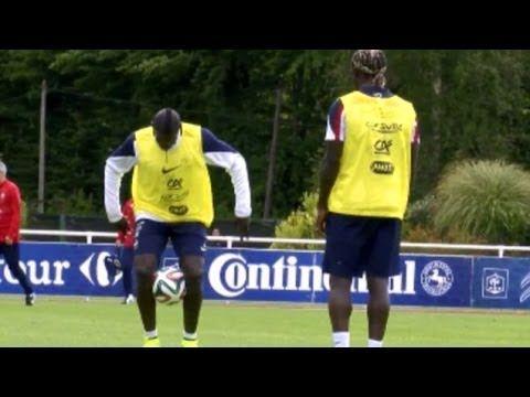 Bacary Sagna & Mamadou Sakho Show Off Impressive Skills During France Tr...