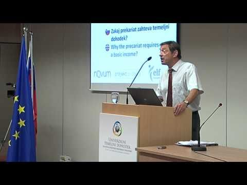 Why the precariat requires a basic income (Prof. Guy Standing) (ENG) - YouTube