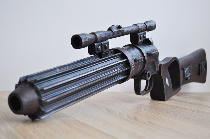 EE-3 Boba Fett blaster full scale 1:1 from Star Wars Battlefront props / replica / cosplay. by DesignedBycomua on Etsy