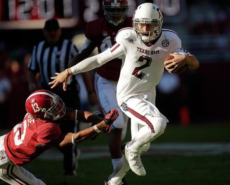 Texas A quarterback Johnny Manziel