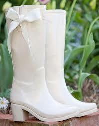 white wellies