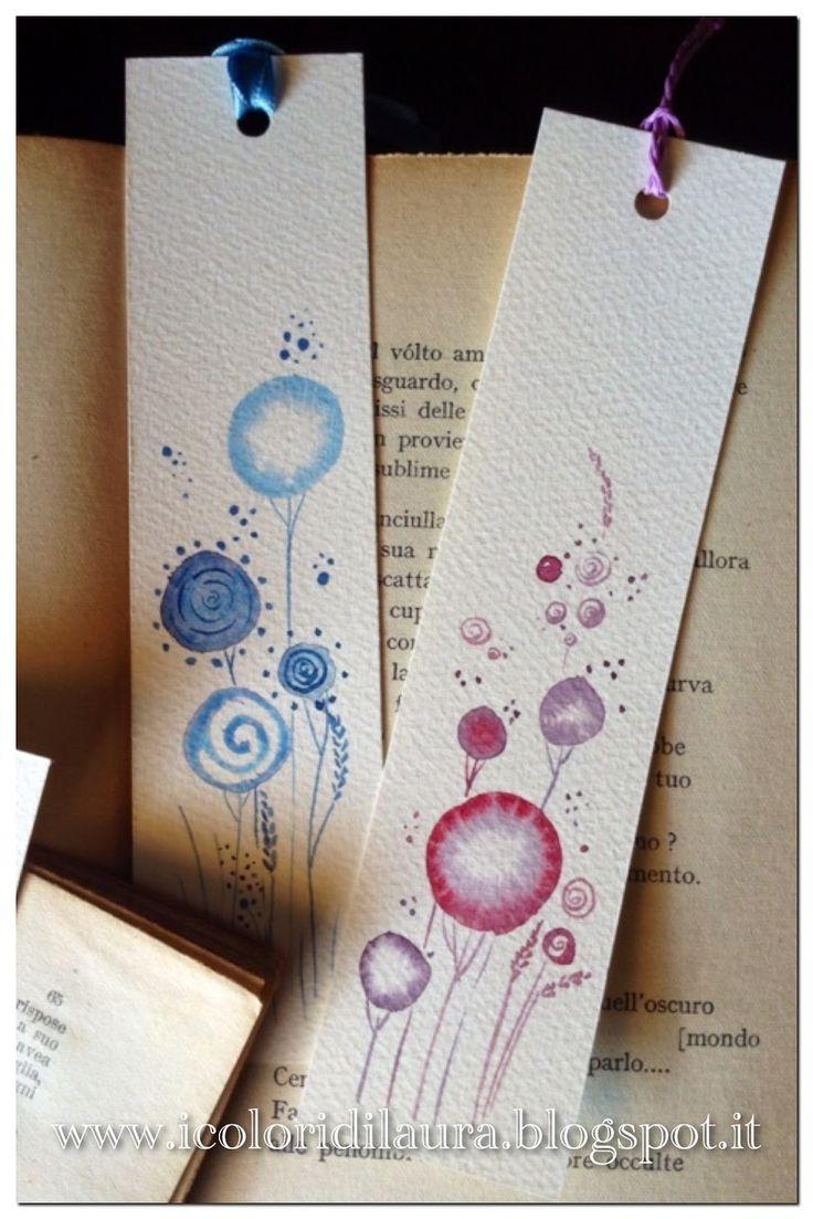 icoloridilaura: Card floreali ad acquerello..tutorial di primavera