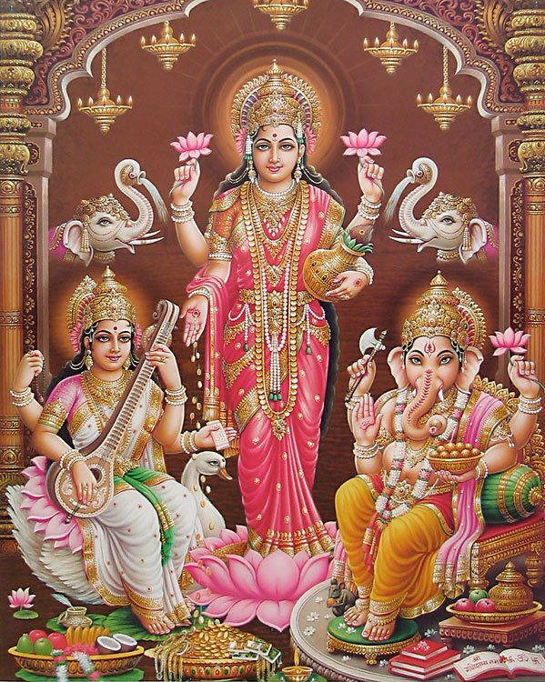 Hindu Goddess Lakshmi Pictures for Akshaya Tritiya | Hindu Devotional ...