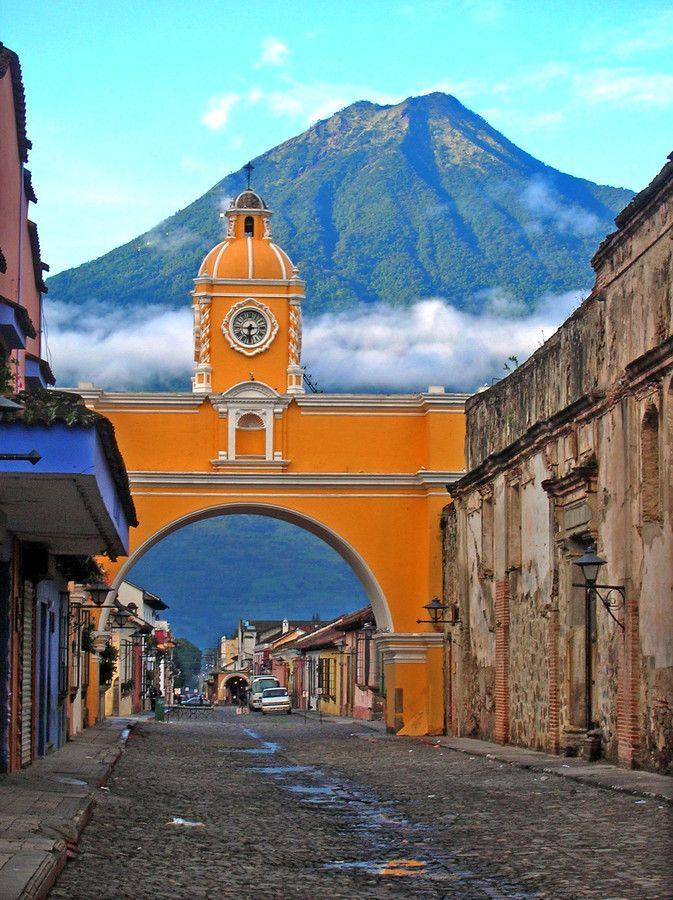 archway of the Santa Catalina - Antigua, Guatemala