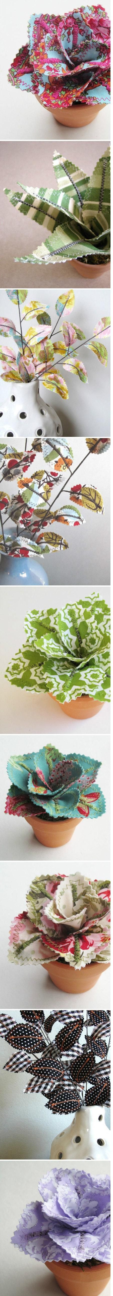 fabric plants
