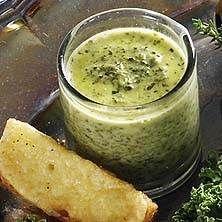 Grönkålssoppa med cheddartoast