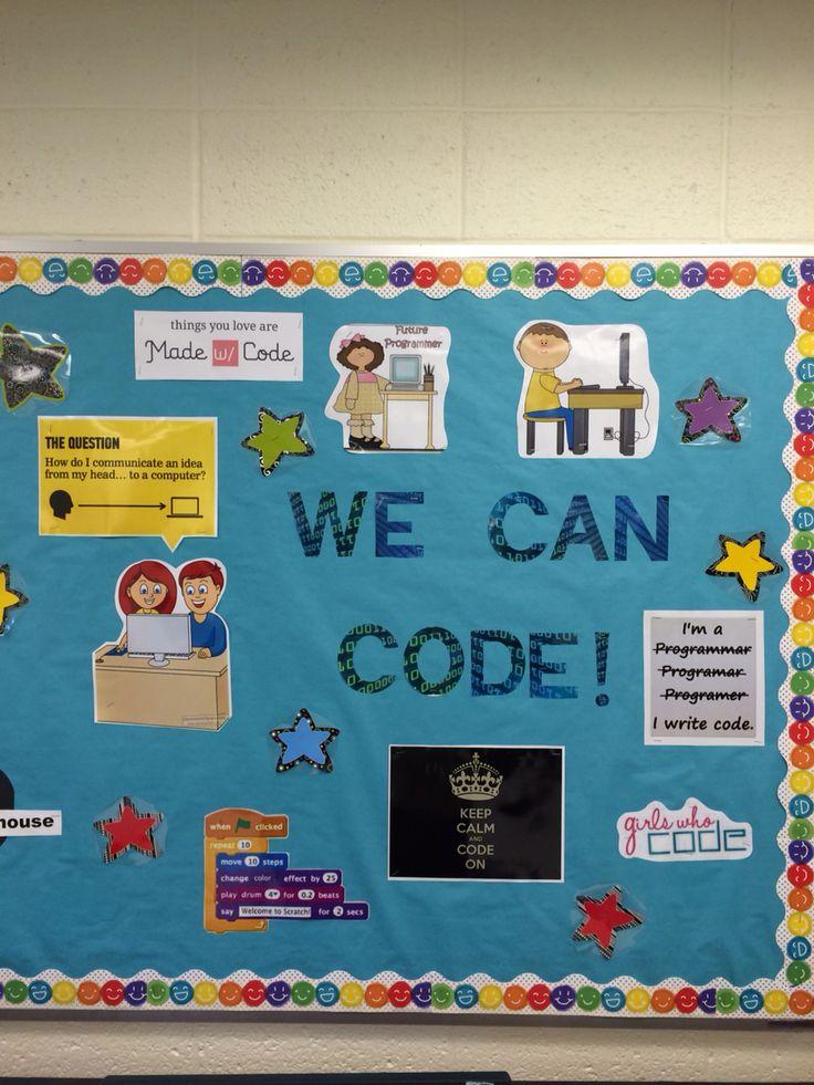 Ict Classroom Ideas ~ Best computer bulletin boards ideas on pinterest