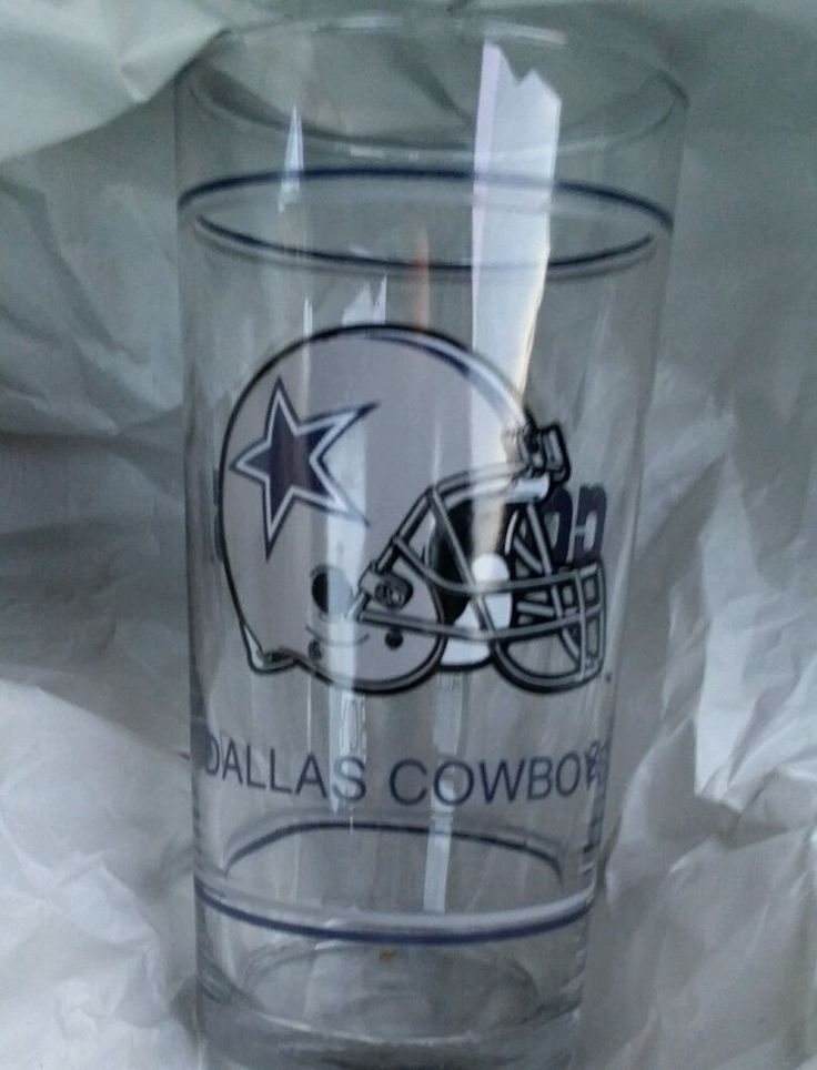 NFL Dallas Cowboys Clear Cup #NFL #DallasCowboys