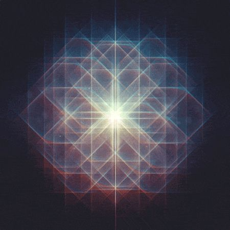 Bonitos GIF geométricos con toques setenteros. Mr. Div GIF (5)
