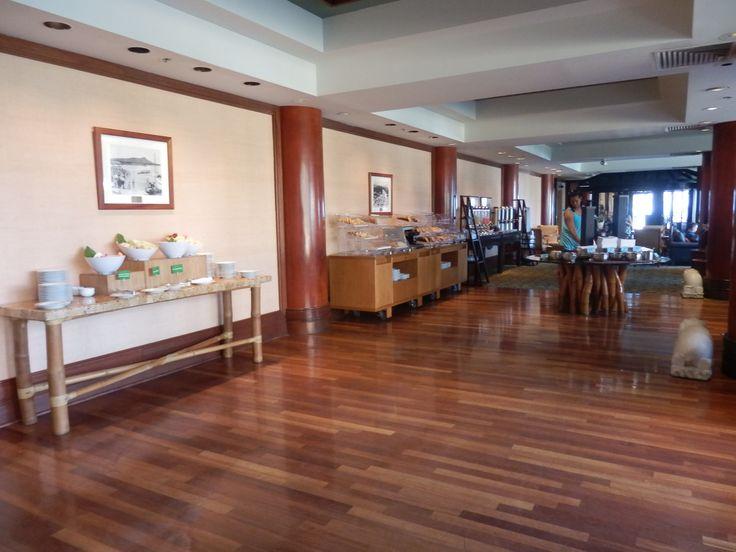 Breakfast provided for Gold & Diamond HHonor guests at the Hilton Hawaiian Village, Honolulu, Hawaii, USA