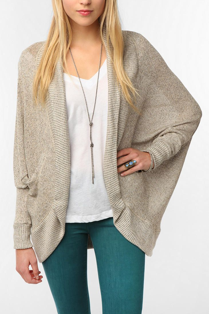 Cocoon Cardigan - This is like what I want in cream or slate blue, @Denise Kingman and @Kerri Lynn