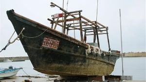 """Since mid-October the Japanese have found of """"ghost ships"""" off their coasts, full of rotting corpses, some of them beheaded. Others only contain skeletons."""