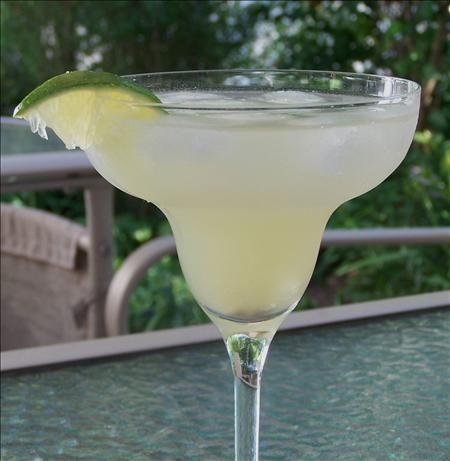 Perfect Petron Margarita, but with flavored salt (Patron Silver Tequila, Patron Citrónge Orange Liqueur, lime juice)