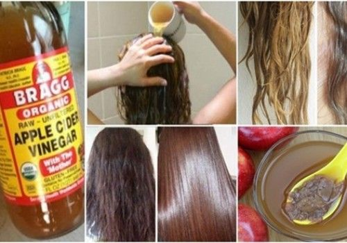 Apple vinegar – remedy to for healthy smooth hair