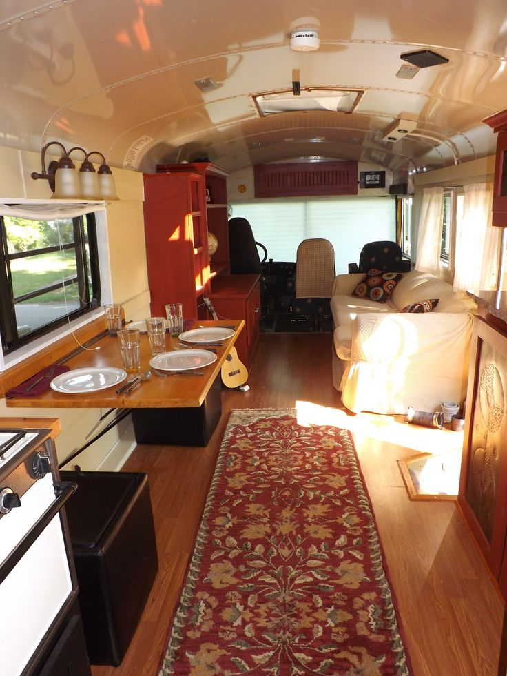 We converted this 39 foot 1998 Thomas Built Bus Saf-T LIner to an RV in 2009. It has a 3116 Caterpillar Rear Engine Diesel Pusher Automatic Transmission All New Air Filters on Engine 60 gallon fuel tank 211,397 miles 13,440 hours Air Brakes 4 New Tires with virgin rubber, excellent condition New shoes (all the way around) NO RUST – NO LEAKS 2 inch ...