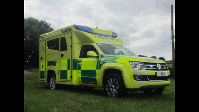 The Volkswagen 'Amarok' ambulance is designed to help paramedics get to patients in hard to reach places where 4×4 capability can be crucial.