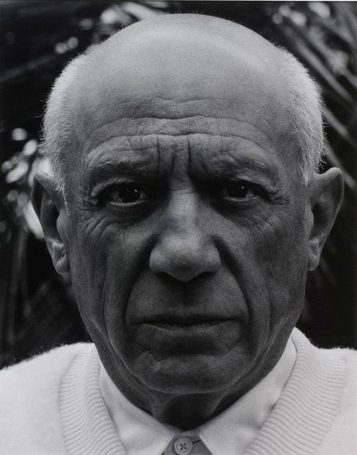 Pablo Picasso, Cannes, France, by Paul Strand 1956