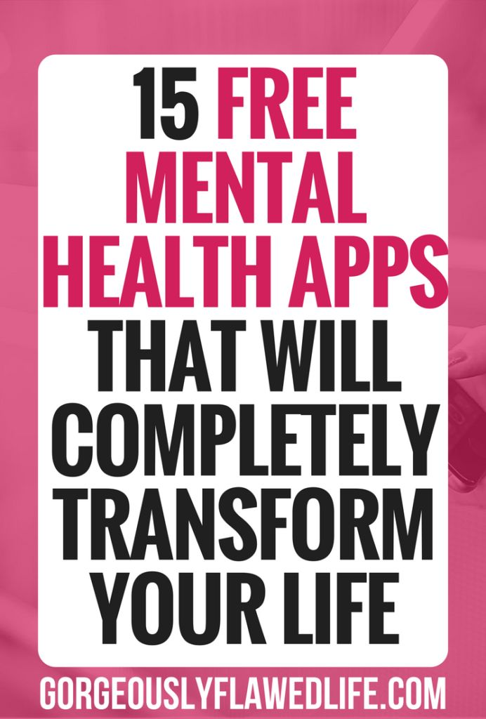 15 Free Mental Health Apps That Will Completely Transform Your Life - Gorgeously Flawed LifeBloglovinEmailFacebookGoogle+InstagramTwitter