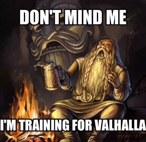 In training for valhalla. I'm going to use this all the time lmao