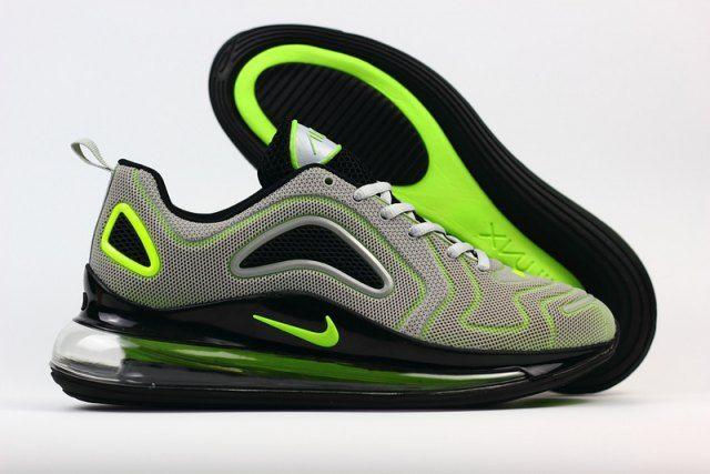 7efc0198 New Arrivel Nike Air Max 720 KPU Light Green Black Men's Casual ...