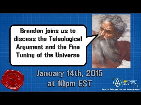 Atheist Analysis: S04 E04 Conversations With Christians Talking about the Teleological argument... - VIDEO - http://holesinthefoam.us/atheist-analysis-s04-e04-conversations-with-christians-talking-about-the-teleological-argument/