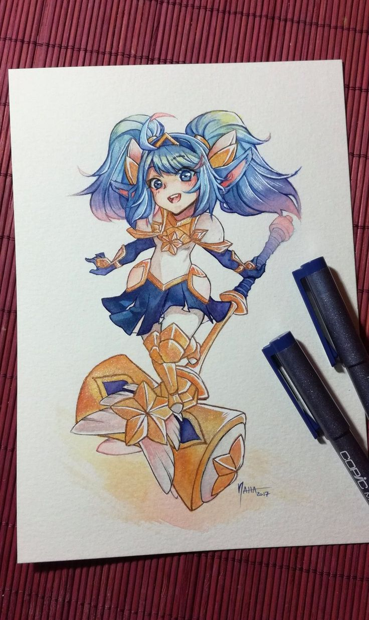 LoL - Poppy Star Guardian by NahaArt