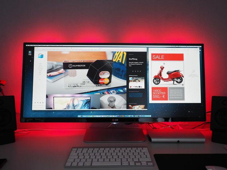 48 besten ultrawide monitor stuff bilder auf pinterest arbeitszimmer computer und schreibtische. Black Bedroom Furniture Sets. Home Design Ideas