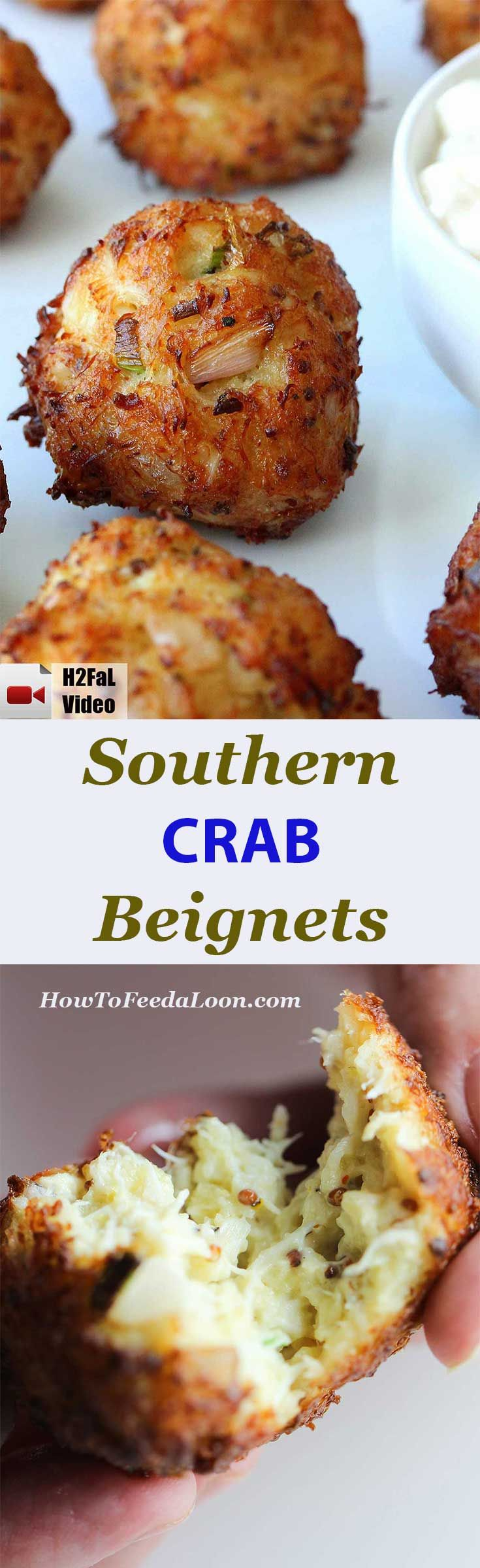 Southern Crab Beignets