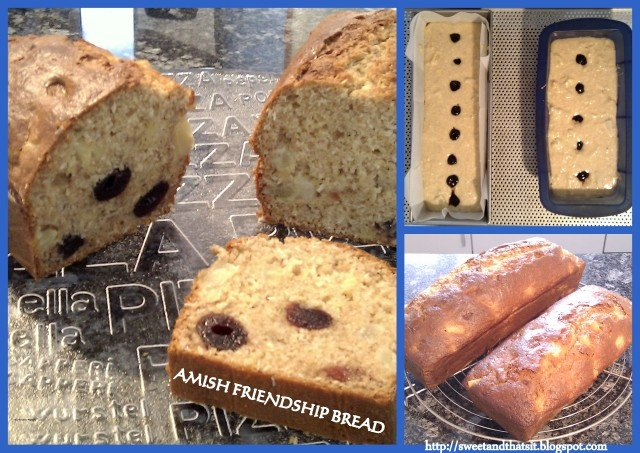 Sweet and That's it: BANANA - PINEAPPLE - COCONUT - SOUR CHERRIES AMISH FRIENDSHIP BREAD - PANE DELL'AMICIZIA AMISH ESOTICO