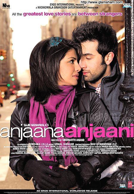 Anjaana Anjaani Starring:Ranbir Kapoor,Priyanka Chopra 2010 Movie IMDb:5.8 A very interesting film. Funny :) :) Definitely should be monitored