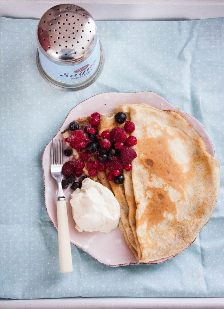 Szwedzkie naleśniki. Swedish pancakes
