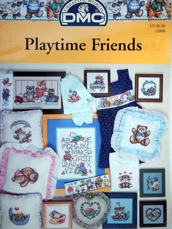 Playtime Friends By DMC Cross Stitch Pattern by NeedANeedle