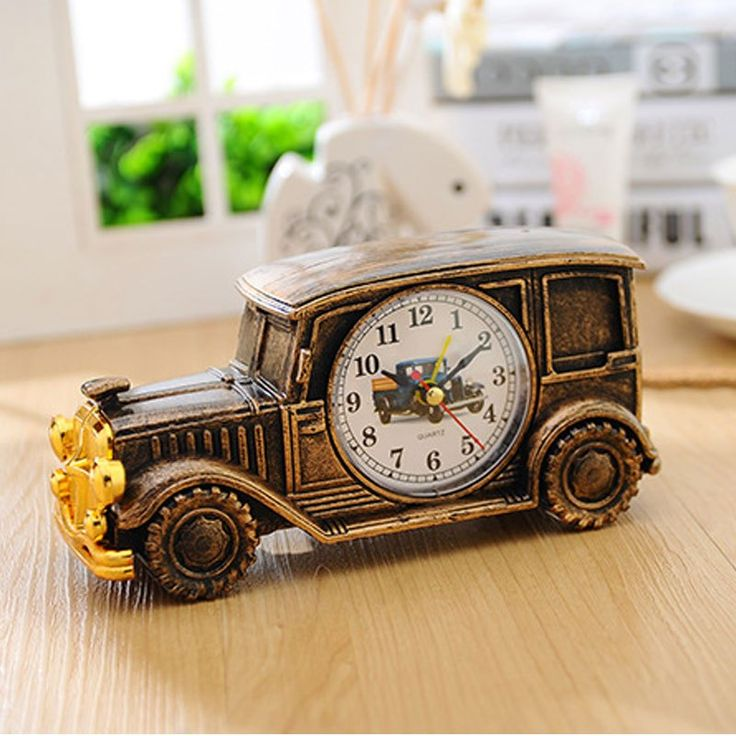 Classic Car Shaped Table Clock   Free Worldwide Shipping!  Only $0.00    Order from: www.happycozyhome.com