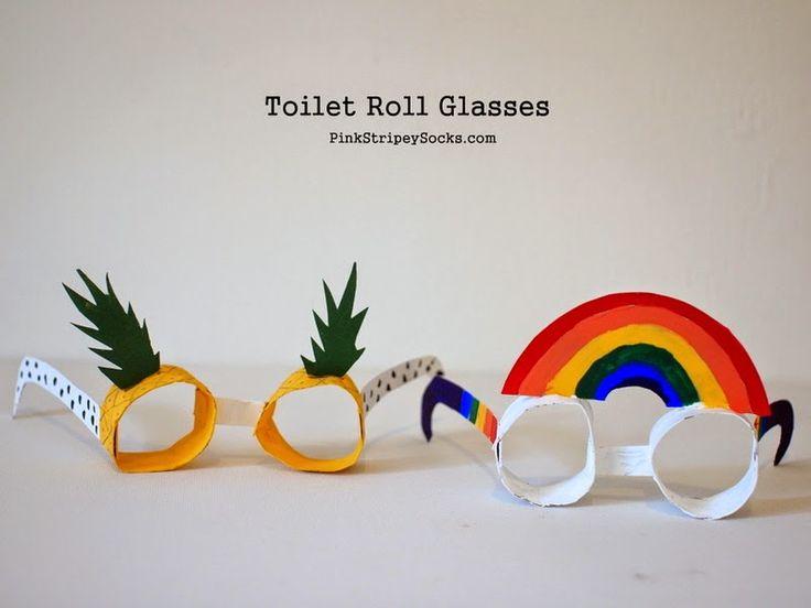 Make Toilet Roll Glasses!