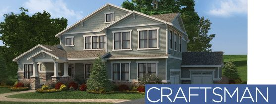 Craftsman style house The Designed Exterior vinyl