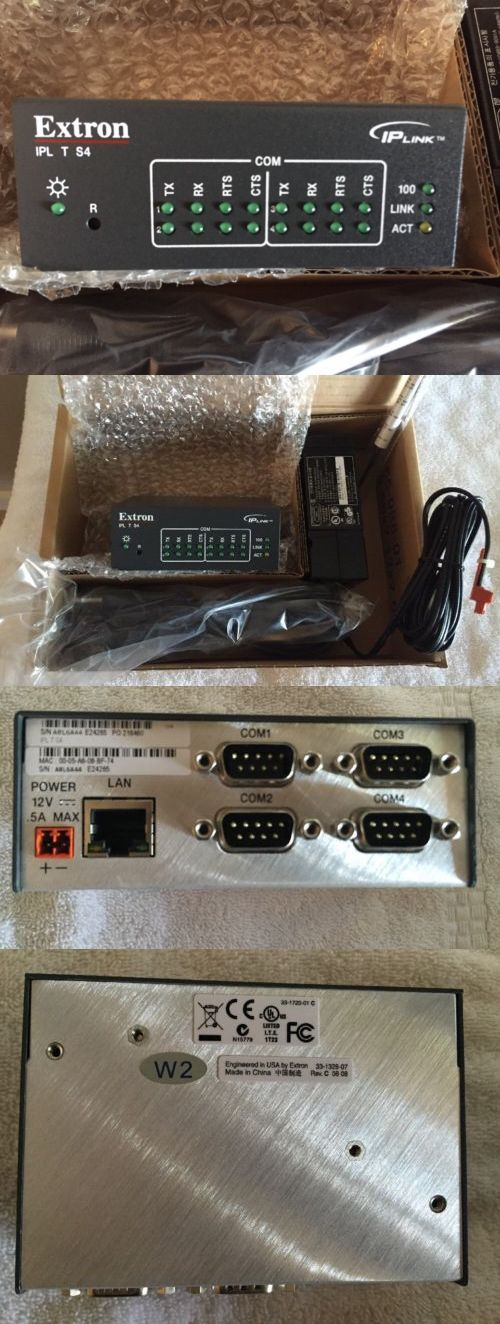 Video Processors and Switchers: Extron Ipl T S4 -> BUY IT NOW ONLY: $284.88 on eBay!
