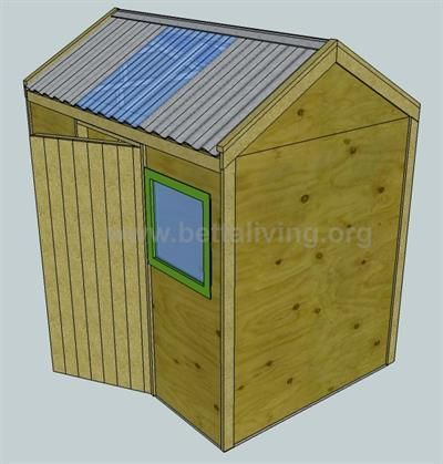 How To Build A Garden Shed Garden Shed Cladding Option Two.