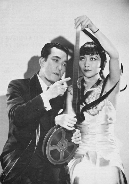 Sessue Hayakawa and Anna May Wong in Daughter of the Dragon 1931