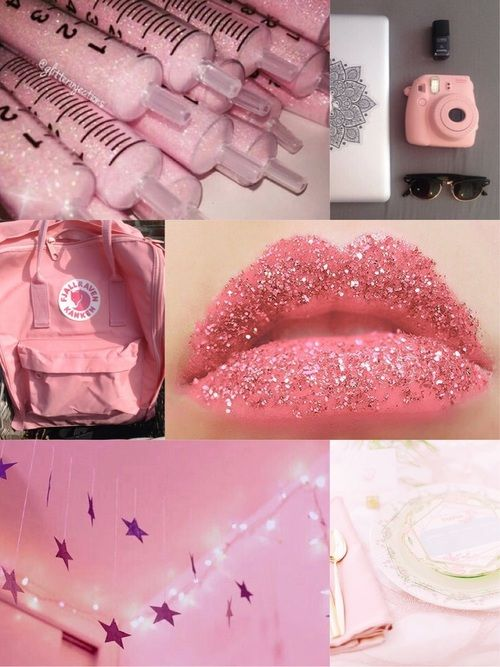 Imagine Collage, liam, and pink