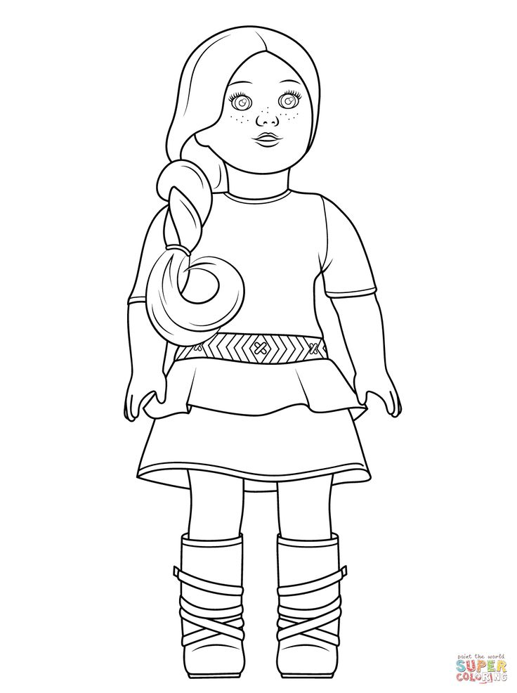 American girl saige coloring page from american girl category select from 27569 printable crafts of cartoons nature animals bible and many more